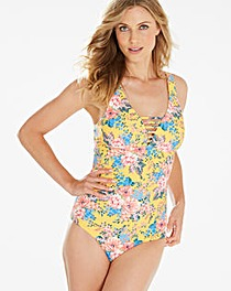 Simply Yours Floral Strappy Swimsuit