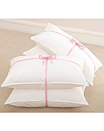 Duck Feather Pillows Pack of 4