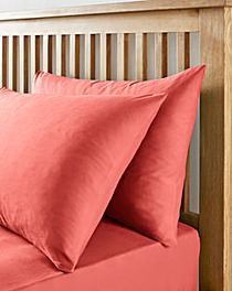 Easy-Care Plain Housewife Pillow Cases