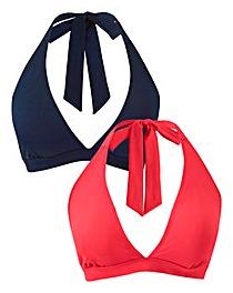 Basic Two Pack Bikini Tops
