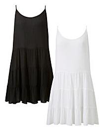 Basic 2 Pack Beach Dresses