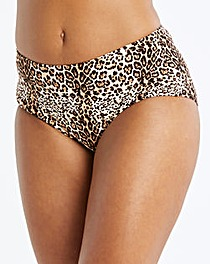 Animal Print Bikini Short