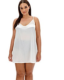 Value Strappy Cotton Beach Dress