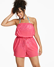Simply Yours Pink Beach Playsuit