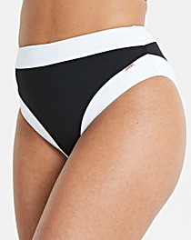 Figleaves Curve Black High Waist Brief