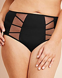 Elomi Sachi Black Full Briefs