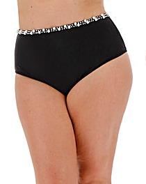 Pearl Detail Strappy Bikini Brief