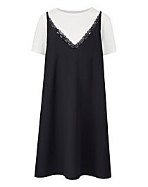 Juna Rose Layered Slip Dress