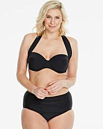 Magisculpt Black Convertible Bikini Top
