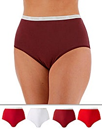 4 Pack Slimma Full Fit Briefs