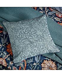 Morris & Co Pink & Rose Teal Cushion