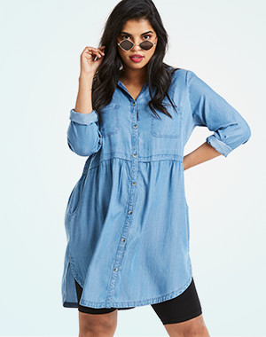 fac48378beb Denim dresses