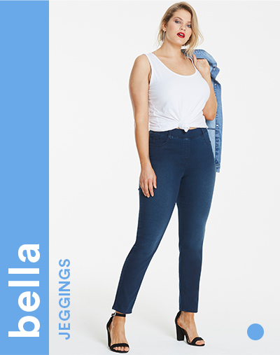 21256b4c40f4 Women's Plus Size Jeans & Denim Jeggings | Simply Be