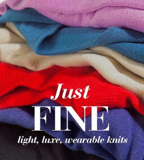 Just Fine - Light, luse, wearable knits
