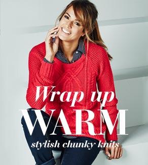 Wrap Up Warm - Stylish Chunky Knits