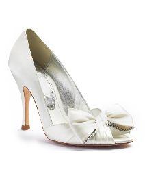 fc5518df52a Wedding shoes ivory