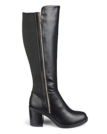 f009219425d Tokyo Boots Ex Wide Fit Super Curvy Calf | VivaLaDiva.com