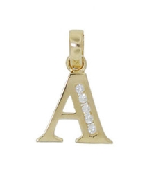 9ct Gold Initial Charm
