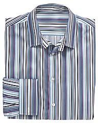 Italian Classics Tall Blue Stripe Shirt