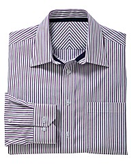 & City Tall Formal Striped Shirt