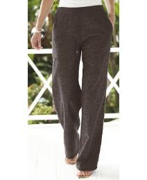 Linen Blend Trousers Length 31in