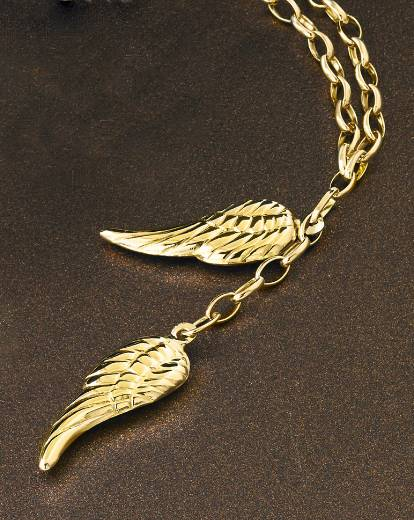 9 carat gold angel wings pendant simply be 9 carat gold angel wings pendant aloadofball Choice Image