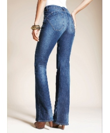 Truly WOW Bootcut Jeans L34in