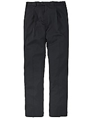 &City Plain 1 Pleat Trousers 38in Leg