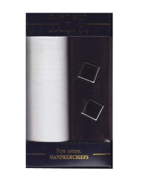 Handkerchief and Cufflink Set