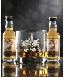 Personalised Whisky Tumbler & Miniatures