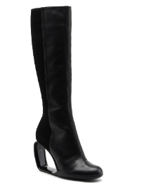 Floss Cleated Sole Boots Wide Fit