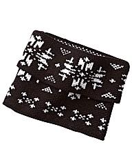 Snowflake Knit Boot Topper
