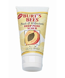 Burts Bees Peach & Willow Bark Scrub