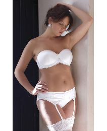 eeb7fa95eb6b Plus size wedding lingerie for the bride | Bridal basque underwear ...