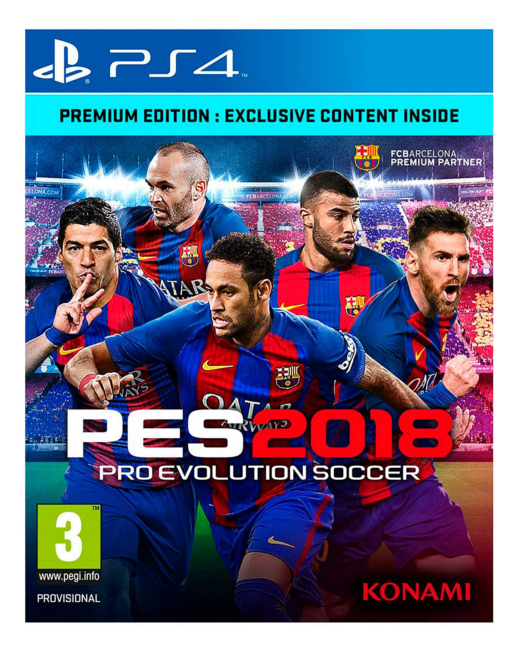 9cb4405c3eb82 Pro Evolution Soccer (PES) 2018 PS4