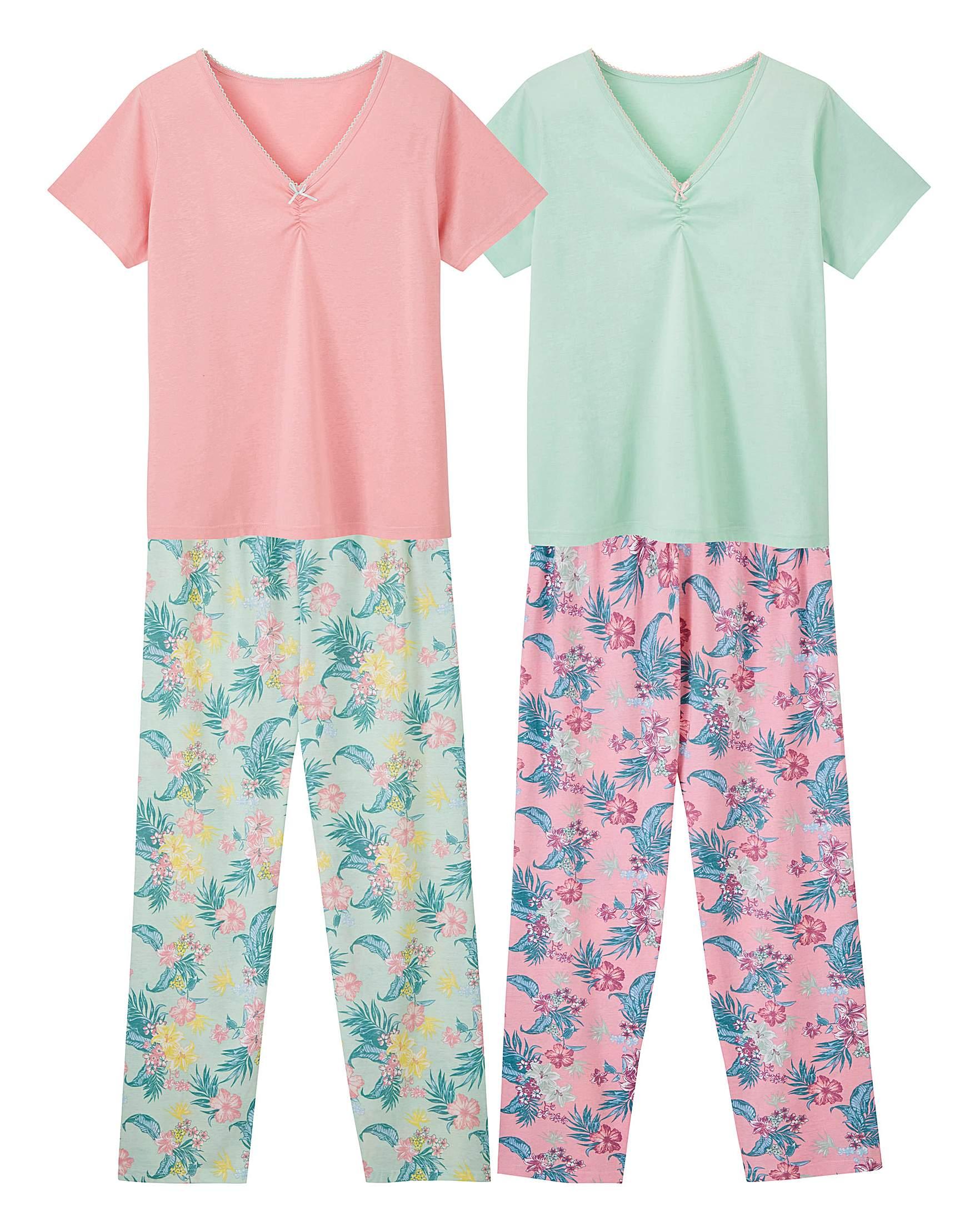 c88c8e0e642 Pretty Secrets 2pk Short Sleeve PJ Sets