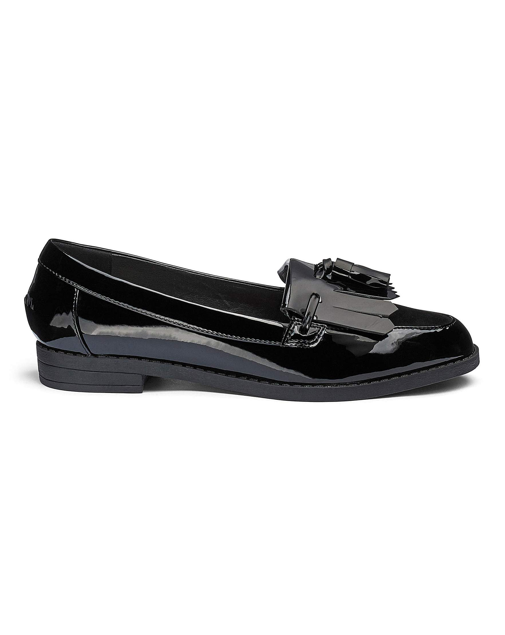eaa2fbd2752 Slip On Fringe And Tassel Loafers Extra Wide EEE Fit