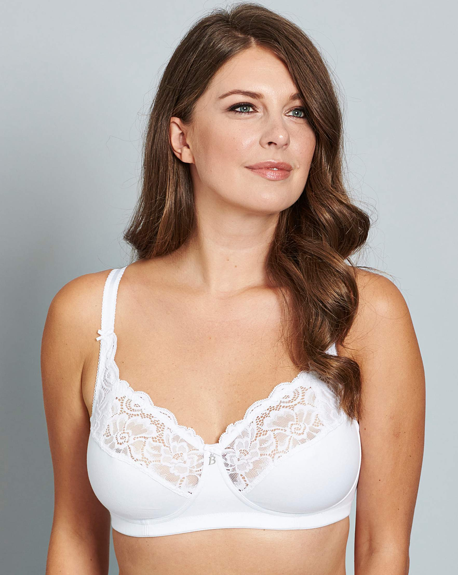 Bestform Cocoon Non Wired White Bra  3ecc7374e