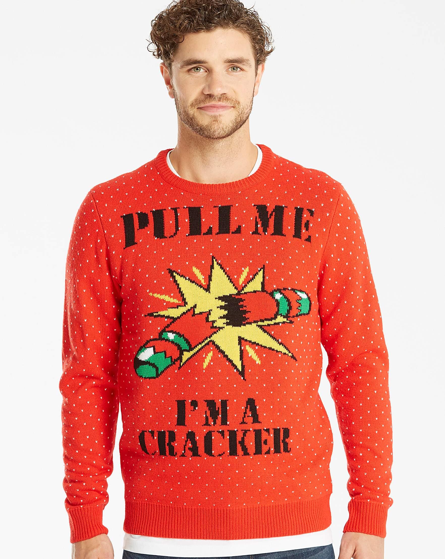 Label Regular Knit J Jacamo Xmas Cracker aUqHafS