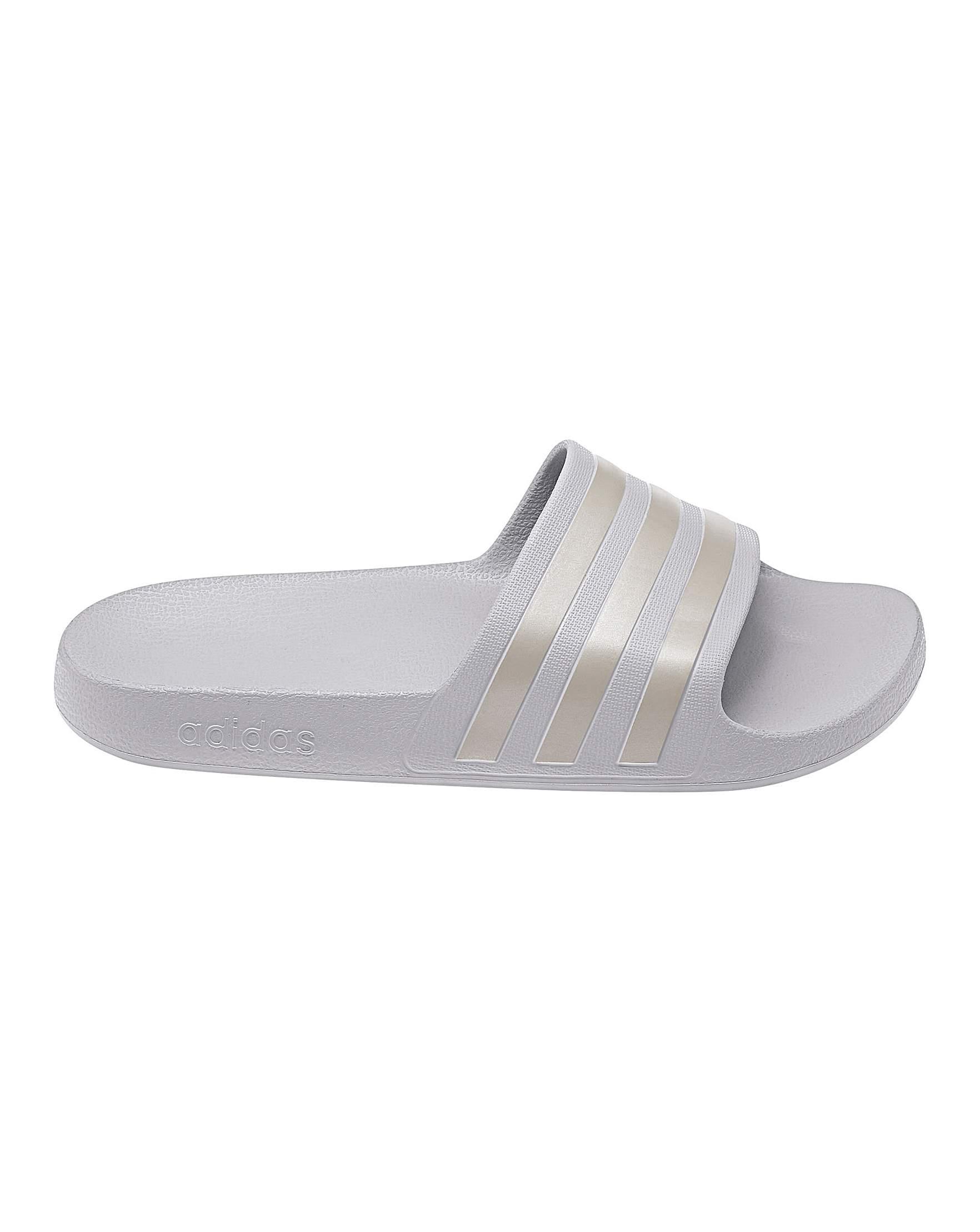 02fea86d5b6 adidas Adilette Aqua Sliders | Simply Be