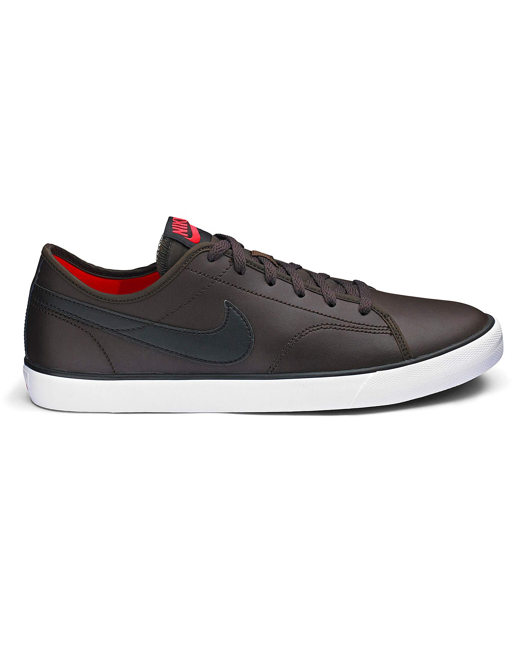 49313a57a64a Nike Primo Court Mens Leather Trainers