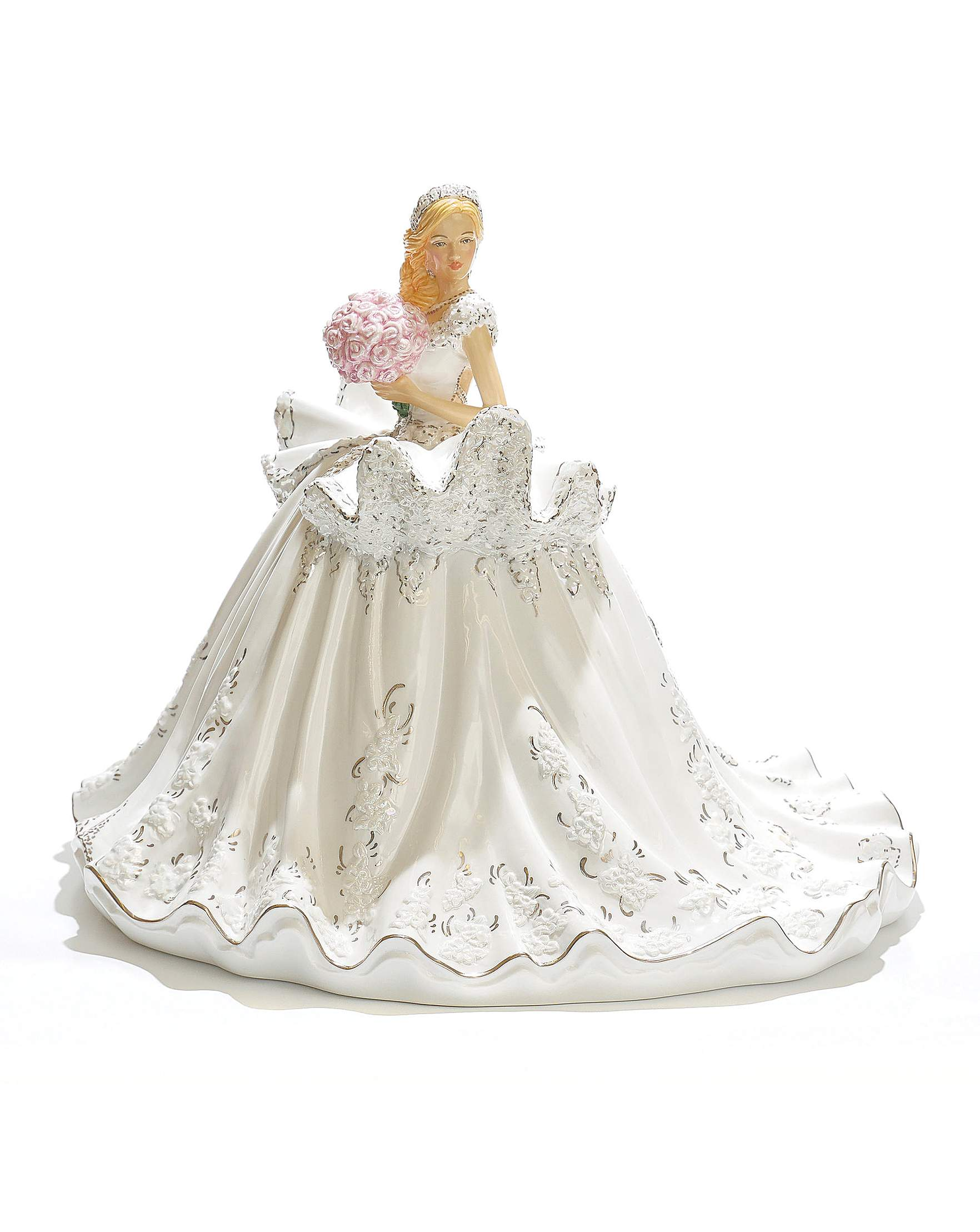 Gypsy Elegance Wedding Figurine - Blonde | J D Williams