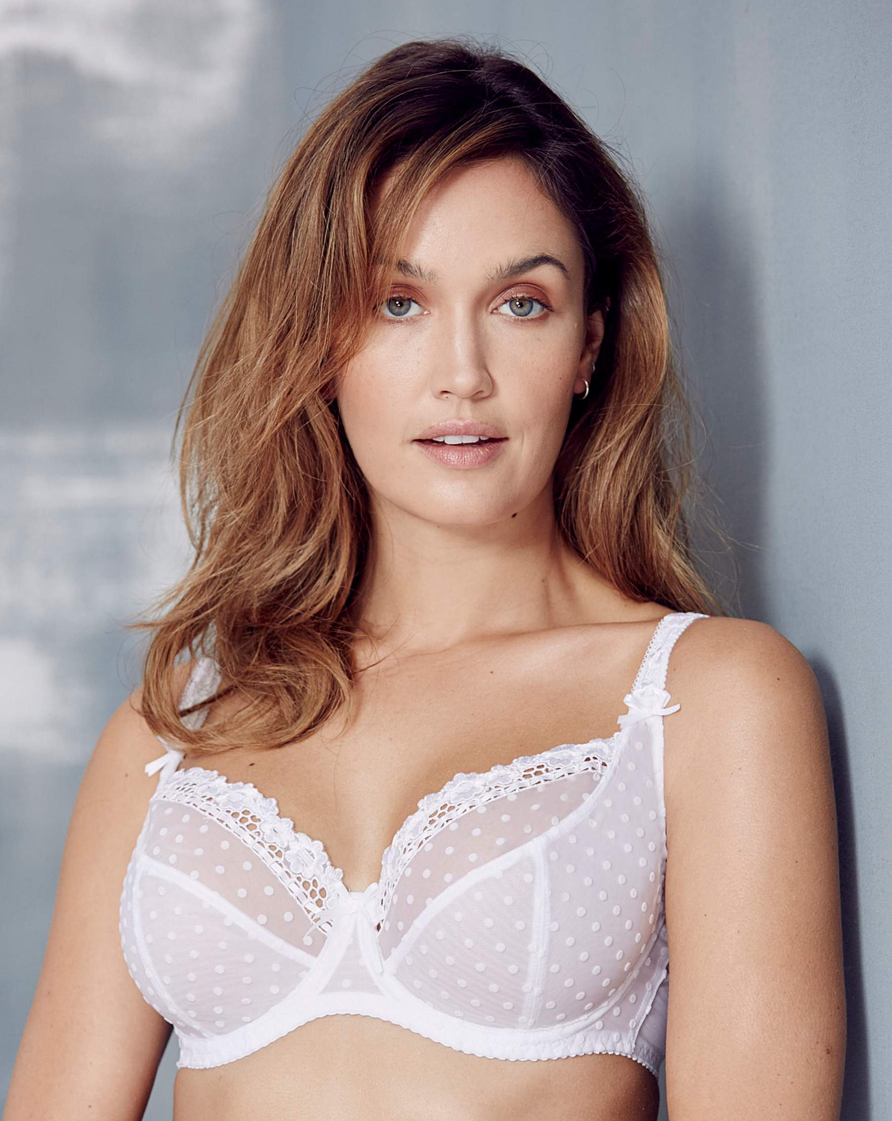 5a5bf9ee0b Curvy Kate Princess White Balcony Bra