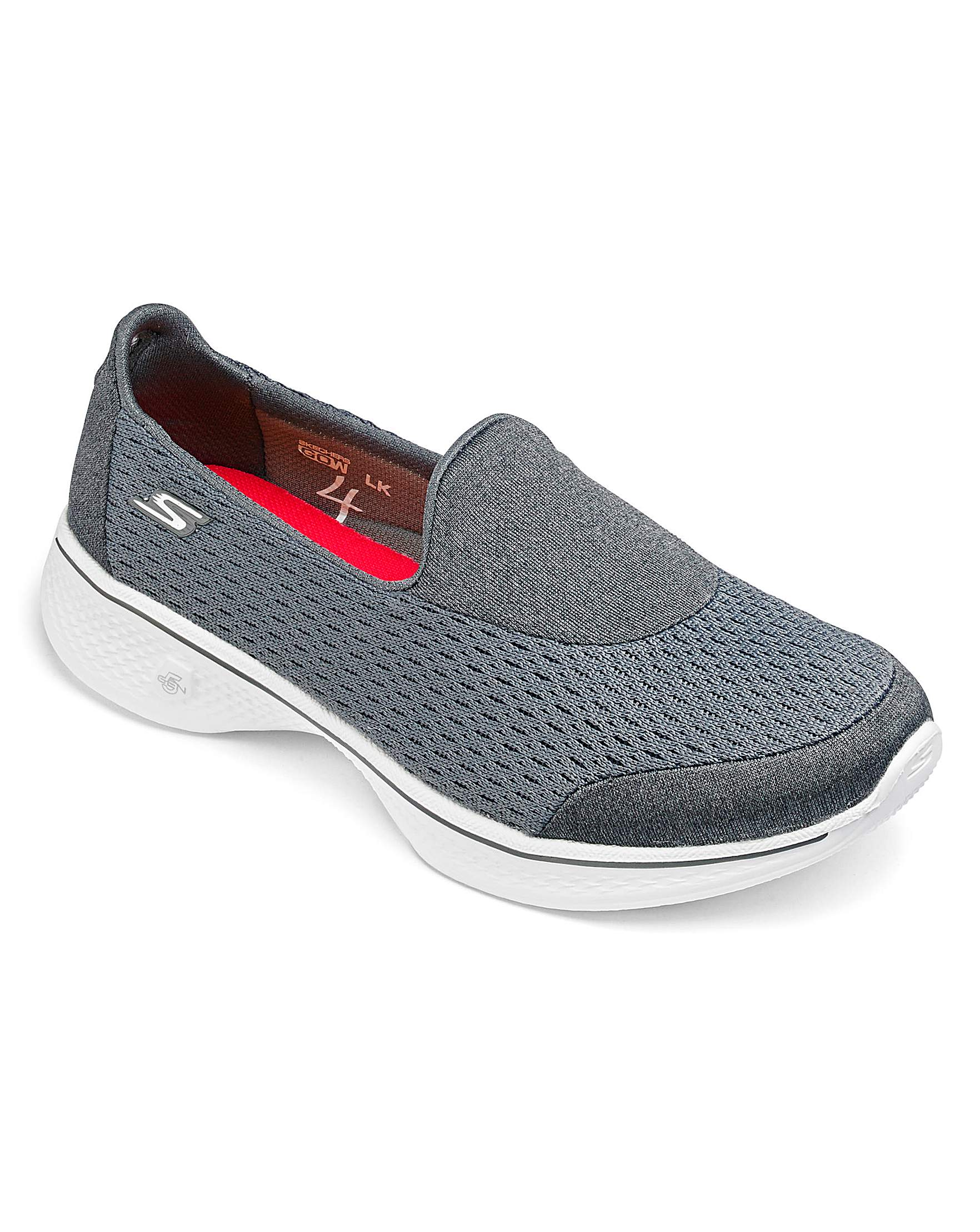 0a49a7964cd8 Skechers Go Walk 4 Trainers Wide Fit