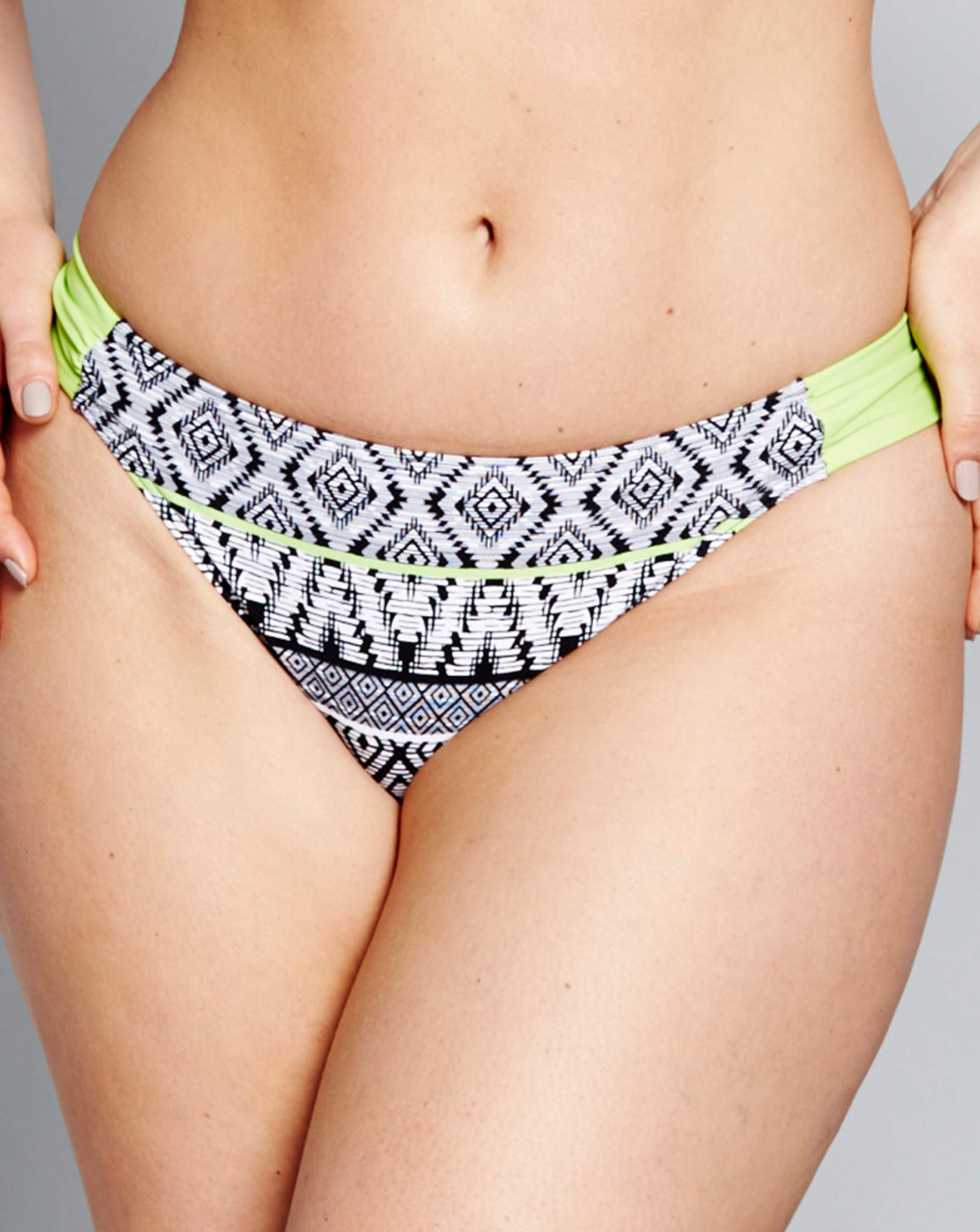 545f5ffad8 Mono Print Bikini Bottoms
