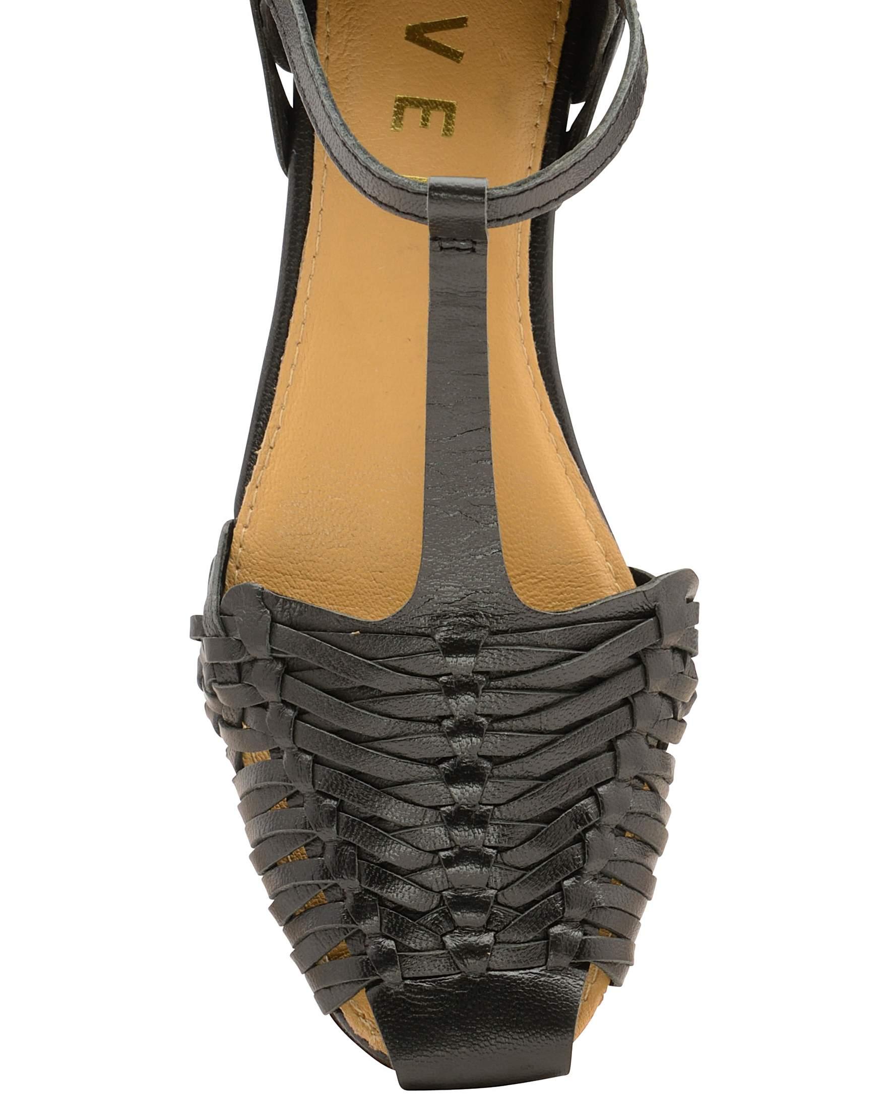 35e80cb6a Ravel Calhoun Flat Leather Sandals