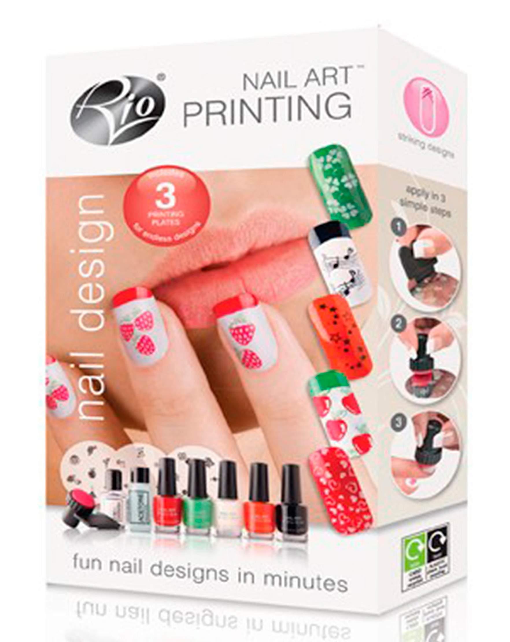 Rio Nail Art Printing Set Fashion World
