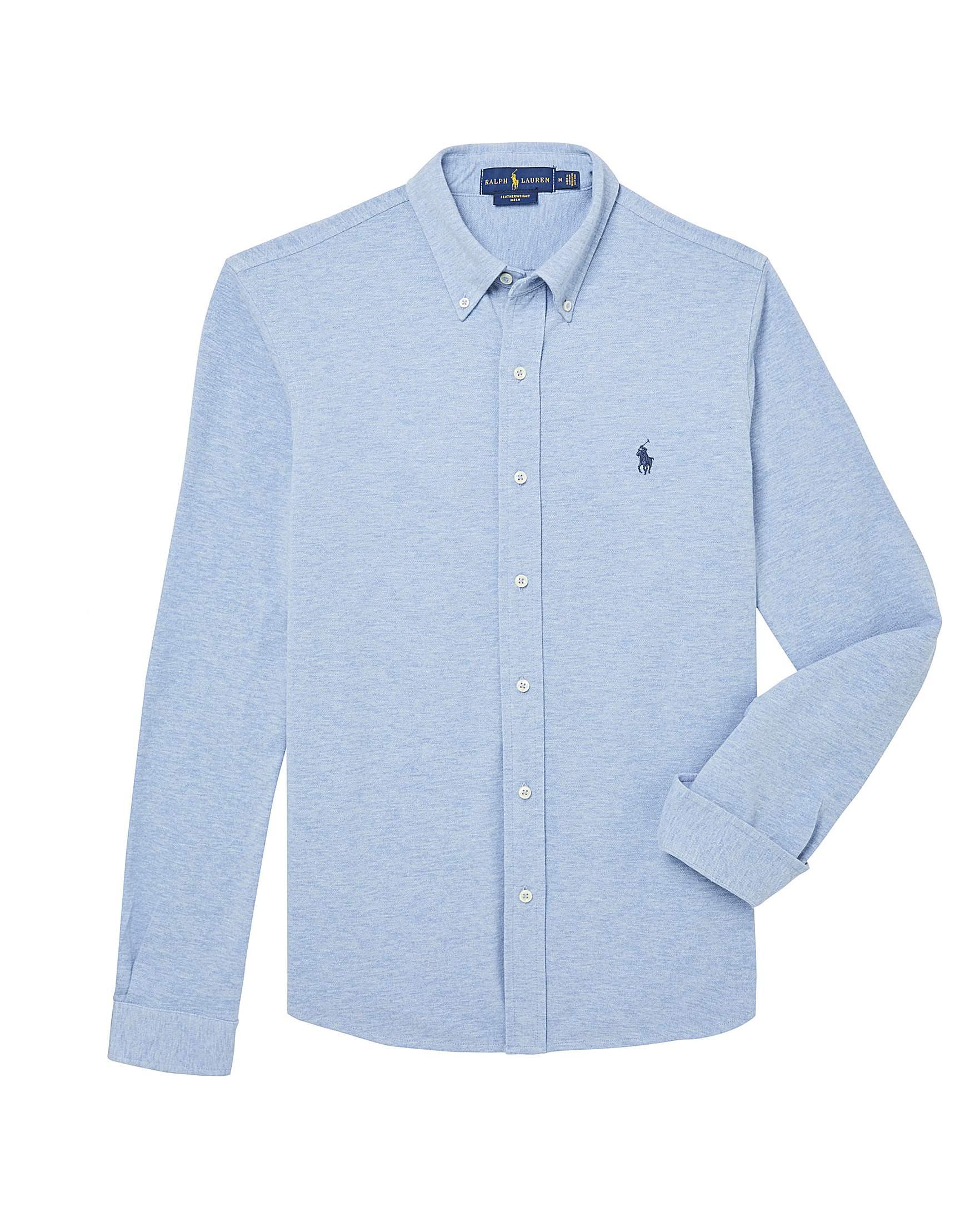 b2a7e8b2 Polo Ralph Lauren Button-Through Shirt   Jacamo