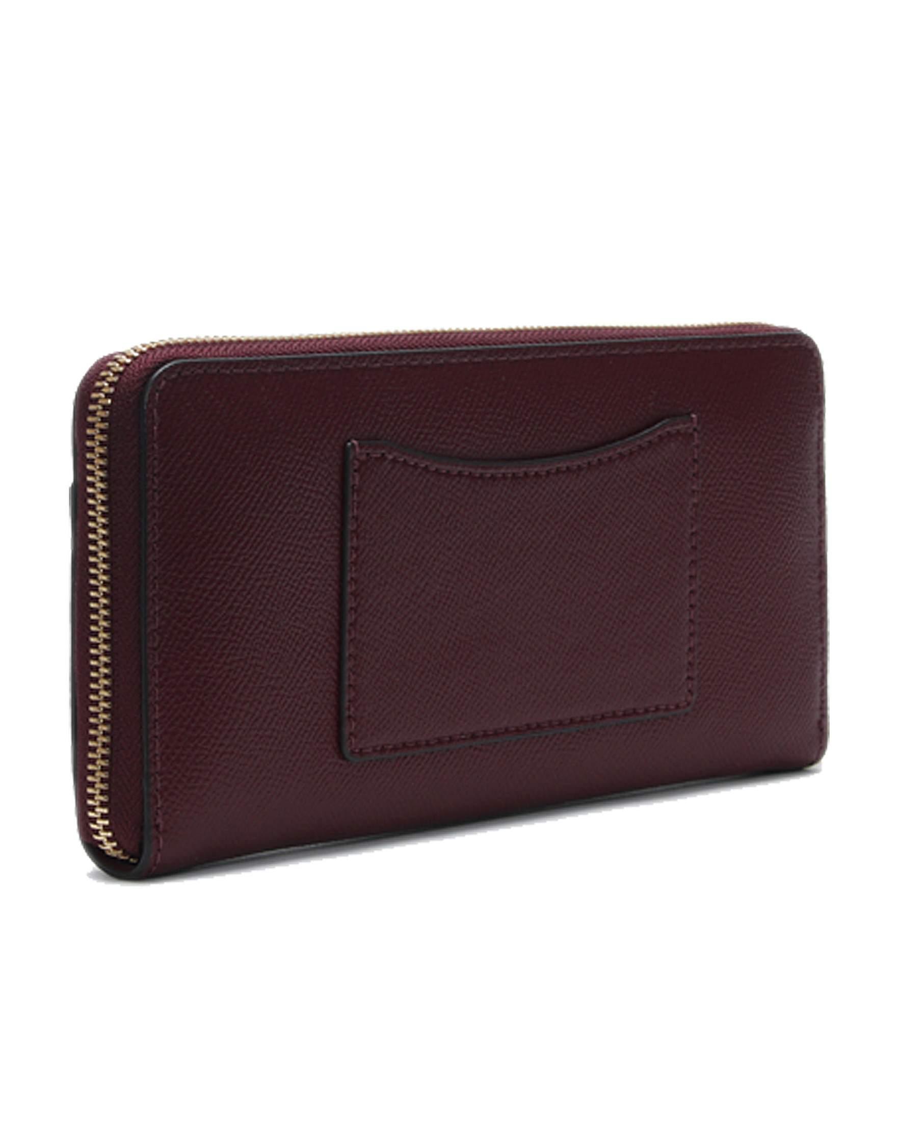 805df84bdbf8 Michael Kors Continental Pocket Leather Zip Around Wallet