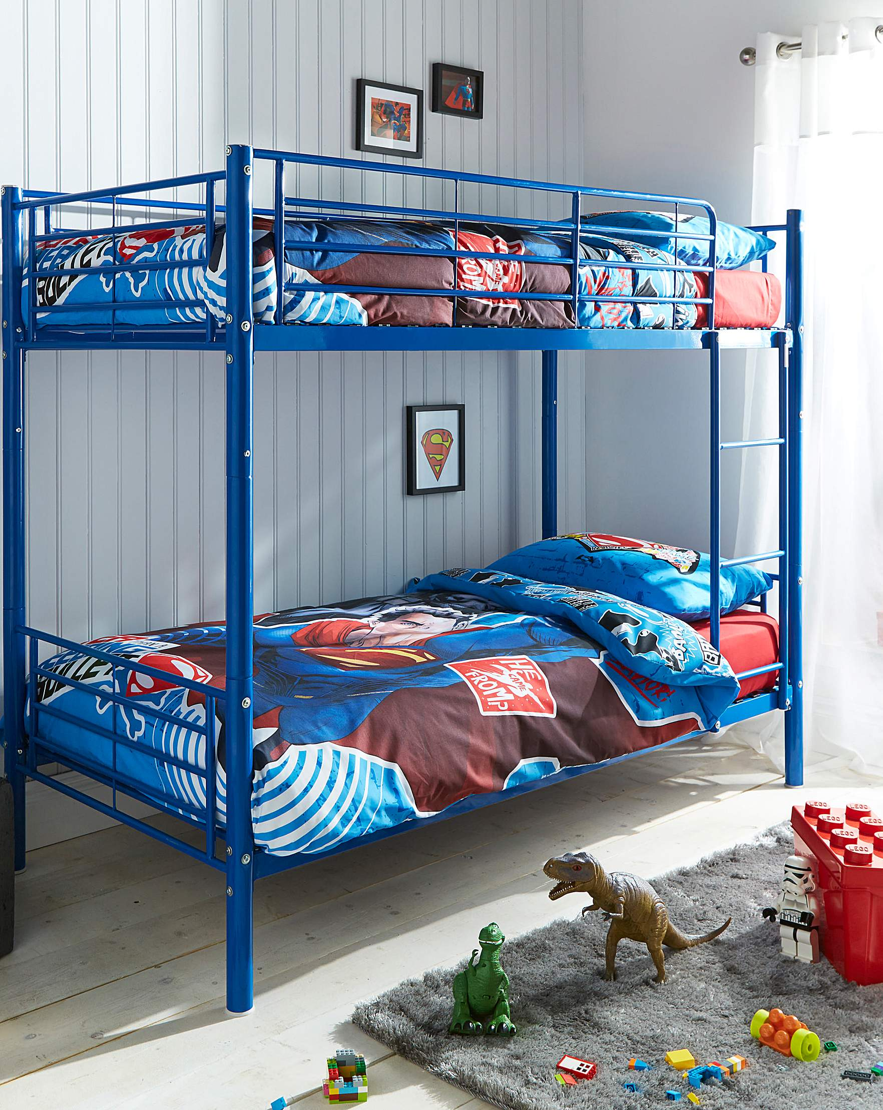Oscar Metal Bunk Bed | J D Williams